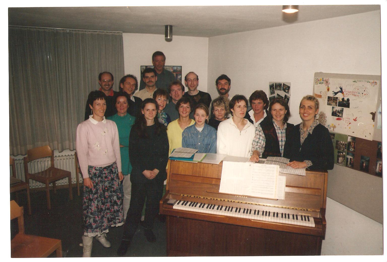 1996 Probenraum St. Rita